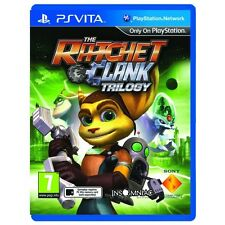 The ratchet et clank hd trilogy collection PS VITA game brand new