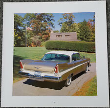 1957 PLYMOUTH STANDARD BELVEDERE FOUR DOOR MAGAZINE ADVERTISEMENT PRINT AD