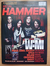 METAL HAMMER 5/2014 WAMI Band,Accept,Ozzy Osbourne,Avenged Sevenfold,Epica