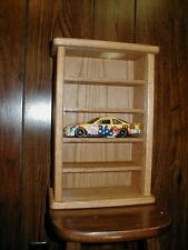 Oak 5 Car Display Case For 1/24th Scale Diecast Cars
