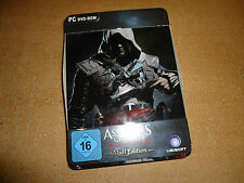 PC dvd- Rom Assassins Creed 4 Black Flag ( 3 DVDs)  für Sammler