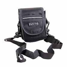 Black Shoulder Waist Camera Case Bag For Canon IXUS 145 285 180 175