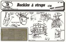 Royal Model 1:35 Buckles and Straps for Figures Photo-Etched Set #040