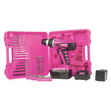 "The Original Pink Box PB18VNIC 18V NiCd 3/8""  Cordless Drill Kit"