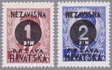 Kroatien 1941 Mi.Nr. 41-42 postfrisch