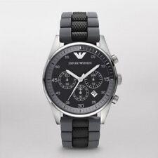 Emporio Armani Gent's Sportivo Silicone Strap Chronograph Watch AR5866