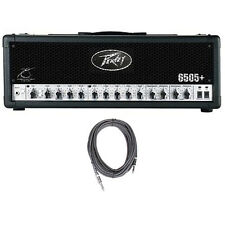 Peavey 6505+ Plus 2-Ch 120W Tube Guitar Amp Head w/ Footswitch +FREE Cable
