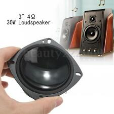3'' Inch 4Ω 30W Bass Audio Speaker Stereo Subwoofer Loudspeaker Altoparlante