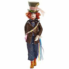 "Alice Through the Looking Glass 11.5"" Deluxe Mad Hatter Collector Doll (98764) ."