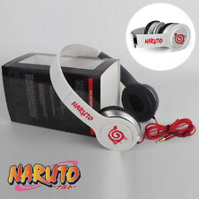 Anime Naruto Leaf Village Sign Mark Headphone Headset Earphone Emblem New in Box