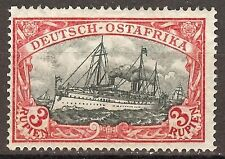 1908 German colonies East Africa 3 Rupien issue mint**, Michel # 39 PF  I, € 450