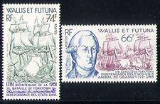 Wallis & Futuna 1981 barcos/barcos/Navegación/Azul Marino 2v n30678