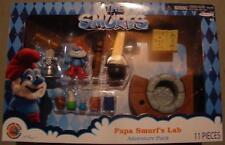 Smurfs papa smurf lab playset movie 2013 new figure