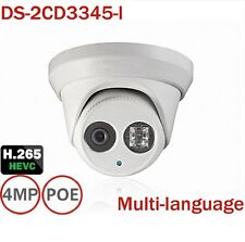 HIKVISION DS-2CD3345-I 2.8mm 4MP Dome PoE EXIR Security IP Camera ONVIF H.265