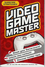 GAMING BOOK: VIDEO GAME MASTER SUREFIRE STRATEGIES PSP/WII/PS3/NINTENDO 2009