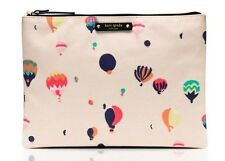 NWT Kate Spade Get Carried Away Gia Cosmetic Pouch Color: Cream Balloon Party