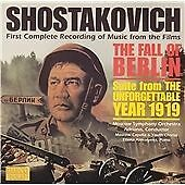 Shostakovich: The Fall of Berlin, , Very Good Soundtrack