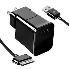 For Samsung Galaxy Tab 2 7.0 7.7 8.9 10.1 Note Tablet USB Cable Wall Charger