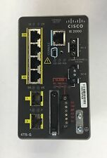 Cisco Industrial Ethernet IE-2000-4TS-G-L Ethernet Switch and Power Supply