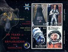 ST.VINCENT 2008 FIRST in SPACE/ GAGARIN M/S SC#3643 MNH CV$6.50 ASTRONOMY