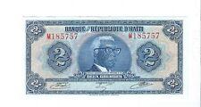 Haiti - Two (2) Gourdes, 1979  !!UNC-TYVEK!!