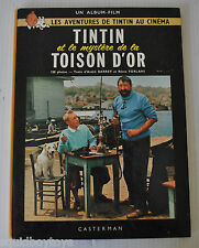 TINTIN et le Mystere de la TOISON D'OR BD French Comic Book HERGE Casterman 1966