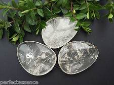 Large A Grade Clear Quartz Crystal Thumbstone - 40mm - The Master Healer