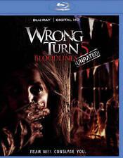 Wrong Turn 5 (Blu-ray Disc, 2015)