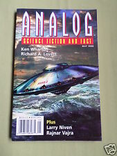 ANALOG - SCIENCE FICTION & FACT MAG  - MAY 2003 -STEVEN BATEMAN  - KEN WHARTON