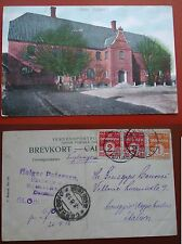 CARTOLINA CARTE POSTALE  POST CARD  DENMARK KAAS JYLLAND 1912