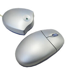 MOUSE WIRELESS BALL PS/2 CON SCROLLING GRIGIO 400DPI