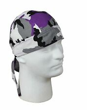 Headwraps - Camo Military Camouflage - All Colors - Do-Rag, Biker Bandana