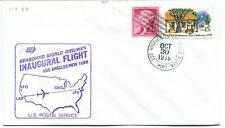 FFC 1978 Inaugural Flight Los Angeles New York JFK Seaboard World Airlines USA