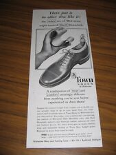 1951 Print Ad Town Shoes by Wolverine Triple Tanned Shell Horsehide Rockford,MI