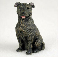 STAFFORDSHIRE BULL TERRIER TINY ONES DOG Figurine Statue Resin Pet Lovers Gift