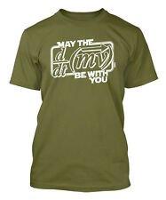 May The Force Be With You - Math Science Geek Men's T-shirt