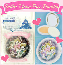 ❤ Sailor Moon x It's Demo Uranus Neptune Clear Compact Face Power Fundation ❤