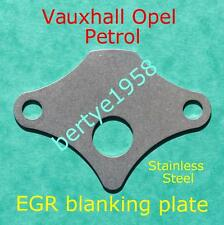 EGR valve blanking plate Astra Corsa Petrol engines.This is a full block Plate