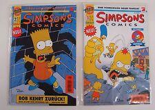 Simpsons (Dino, Gb) Nr. 1-213 zus. (Z1) eingetütet und geboardet