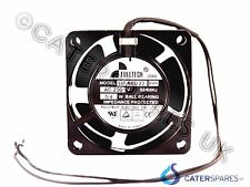 FULLTECH AXIAL SQUARE PANEL FAN MOTOR 60 x 60 x 30MM UF60D23BWH BRANDED FAN