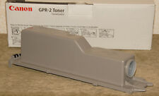 LOT of 2 - GENUINE CANON - GRP-2 TONER CARTRIDGES - Black - *NEW in BOX!