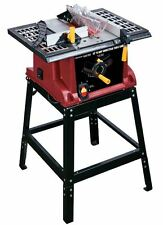 Contractor Table Saw 10 Inch With Stand Portable Woodworking Tools Garage 15 AMP
