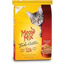 Meow Mix Tender Centers Salmon and Chicken Dry Cat Food, 13.5-Pound New