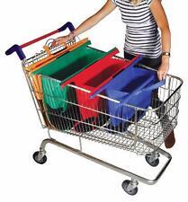 Trolley Bags - Lot de 4 sacs pour caddie