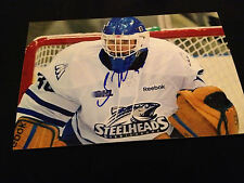 Spencer Martin SIGNED 4x6 photo Mississauga Steelheads / COLORADO AVALNCHE