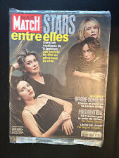 paris match n°2750 catherine deneuve virginie ledoyen isabelle huppert  2002