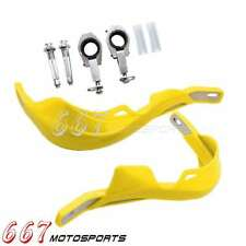 TRX450R TRX400EX TRX250R CRF250R CRF450R CR Yellow Brush Handguard Hand Guards