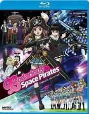 Bodacious Space Pirates: Complete Collection (Blu-ray Disc, 2014, 3-Disc Set)