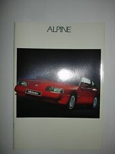 Catalogue ALPINE V6 Turbo