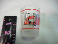 Collectors Tennessee State Souvenir Shot Glass Horses, Women, Whiskey, Money